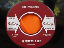 Rare 45 : The Parisians ~ Silhouettes~ Planets Cafe ~ Bullseye 1028