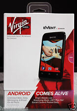 Kyocera Event Prepaid Android Phone (Virgin Mobile) Hot Spot Capable SMART Phone