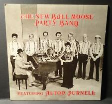 THE NEW BULL MOOSE PARTY BAND w/ALTON PURNELL Rare Antler Private Label Jazz