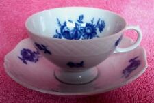Eschenbach La Reine Cup and Saucer Blue Roses GB