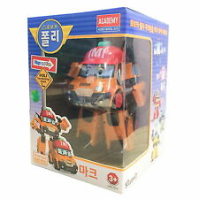Robocar Poli MARK Transformer Robot Truck Car Toy Action Figure Korean Animation