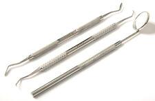 Instrument De De Détartrage Dentaire En Acier Double Bout