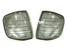 DEPO 81-91 Mercedes Benz W126 S CLASS 4DR Euro Smoke Corner Lights Signal Lamps