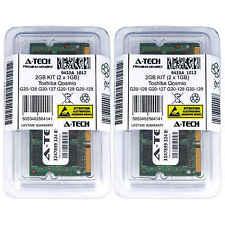 2GB KIT 2 x 1GB Toshiba Qosmio G20-126 G20-127 G20-128 G20-129 Ram Memory