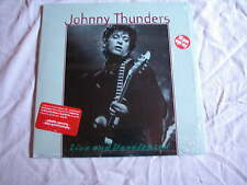 Johnny Thunders Live & Unreleased rare unplayed 2LP 180g Heartbreakers Dolls