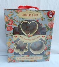 Make Your Own Cookies - Cutters & Recipe Book - Boxed Set BNIB