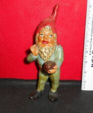 """RARE  PROF. PAUL LOTHER MUELLER [ GNOME ] HEISSNER WEST GERMANY 8"""" TALL FIGURINE"""