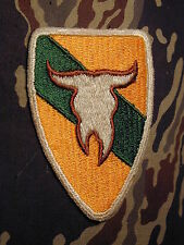 163rd ACR Armored Cavalry Regiment Montana National Guard color shoulder patch
