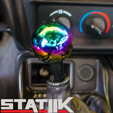 ROUND BALL NEO CHROME 10X1.25 SHIFT KNOB FOR NISSAN SENTRA ALTIMA MAXIMA
