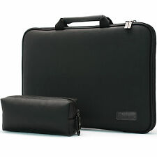 Burnoaa Laptop Bag Case Sleeve DELL LATITUDE 2110 2120 Memory Foam Padded