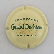 capsule champagne CANARD DUCHENE n°74 jaune crème