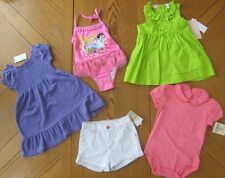 NEW 24 month/ 2T Girl Summer clothes LOT Swimsuit w/ Cover Dress Shorts $119 NWT
