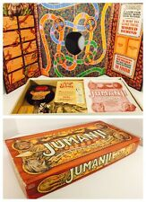 Jumanji Board Game - Milton Bradley 1995 - 100% Complete - Nice Condition