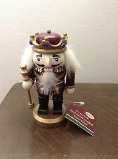 """Nutcracker 5"""" King Soldier Mini Hand Crafted CHRISTMAS NWT"""