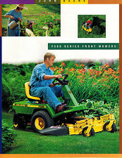 JOHN DEERE F510 F525 FRONT MOWERS SPECIFICATIONS  BROCHURE DKA89 (00-01)