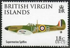 Supermarine SPITFIRE WWII Fighter Aircraft Stamp (2008 RAF 90th Anniversary)