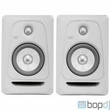 2x KRK ROKIT 5 RP5G3 RP5 G3 Pair - Studio Monitor Speakers *White Noise Edition*