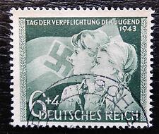 Deutsches Reich 843 , Tag der Verpflichtung der Jugend , Gestempelt