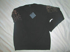 New Rules of etiquette $64 x/s extra small long sleeve black blouse shirt