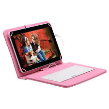 "IRULU Tablet PC 10.1"" Google Android 5.1 WIFI 8GB/1G Quad Core w/ Pink Keyboard"