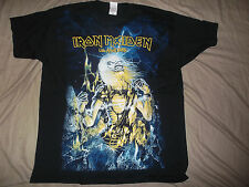 IRON MAIDEN-SHIRT ALLOVER LIFE AFTER DEATH CULT RARE!!!