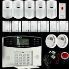 J1 Wireless GSM SMS Home Security Burglar House Fire Alarm System Auto Dialer US