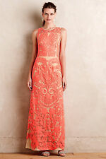 "$398 NEW ANTHROPOLOGIE ""La Belle Epoque Gown"" by Pankaj & Nidhi sz. 4 -GORGEOUS!"