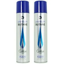 Colibri Premium Lighter Butane 2 Pack Refill Fuel 50g/3.04 oz Canister - #9103-2