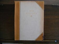 ENVI:The Stone Cutter-A Fable, John Henry Steele, signed 3x, #14/25 1945, Rare!