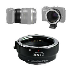 AF Auto Focus Metal EF-EOS M Mount Adapter For Canon EF EFS Lens to EOS M Camera