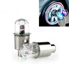 4x Color Flash LED Light Bicycle Motorcycle Car Bike Tyre Tire Wheel Valve Lamp