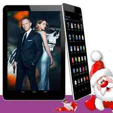 "Unlocked 7"" inch A33 Android 4.4 Tablet PC Quad Core WiFi 3G Dual 4GB Black Hot"