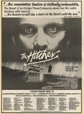 17/5/86PN23 ADVERT: THE HITCHER 0N SCREENS ACROSS THE COUNTRY NOW 15X11