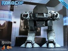 "Sideshow Hot Toys 12"" 1/6 RoboCop MMS Diecast ED-209 Enforcement Droid"