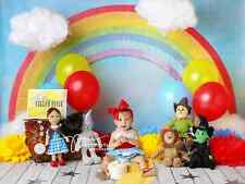Rainbow Photography Backdrops Viny Photography Backgrounds Baby Newborn Kid 7x5