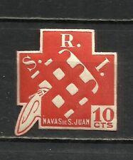 0844-SELLO VIÑETA LOCAL GUERRA CIVIL REPUBLICA NAVAS DE SAN JUAN MNH ** S.R.I.