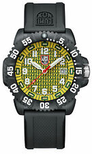 NWT Luminox Navy SEAL Colormark 25th Anniversary 3050 Series Watch 3055 YELLOW