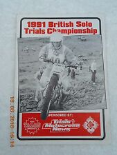 1991 CAMPIONATO Britannico solo prove (petersfield) 2/11/91 programmi