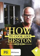 How to Cook like Heston DVD NEW