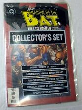 DC COMICS BATMAN SHADOW OF THE BAT N. 1 COLLECTOR SET BOOK ENGLISH  NEW