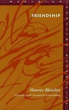 Meridian Crossing Aesthetics: Friendship by Maurice Blanchot (1997, Hardcover)