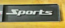 6 inch Matte Sports Metal Logo Sticker 3D Metal Emblem Refiting Badge Car Auto