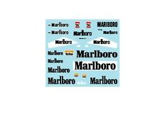 F1 DECALS MUSEUM COLLECTION D237 1/43 MCLAREN M23 '74 & '76 TOBACCO
