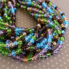 150 beads Czech Glass Beads 4.1mm Prairie Mix SB6-mix20
