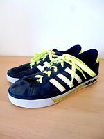 Adidas Gazelles Neo Label navy white lime green lace up trainers sneaker size 5