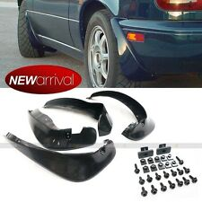 Fit 90-97 Miata MX5 4PCS Mud Flaps Splash Guards Set