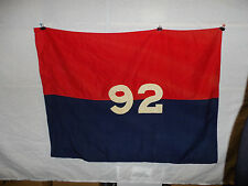 flag255  US Army 92nd Infantry Division Flag Pre 1943 WW 2 style