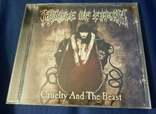 CRADLE OF FILTH Cruelty and the Beast CD Orig. 1998 Music for Nations, UK Import