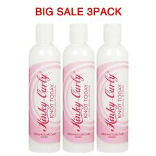 Kinky Curly Knot Today Leave-in / Detangler 8oz - 3Pack