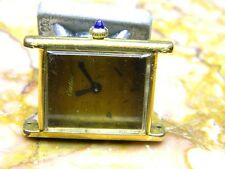 unisex Cartier manual wind gold plated 17j watch ETA 2512 parts repair runs